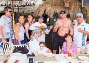 Family Beach Party Playa del Carmen