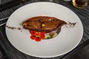 Fresh Cocoa Bean Dessert