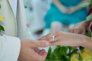 Riviera Maya Destination Wedding Ring